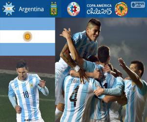 Rompicapo di ARG finalisti, Copa America 15