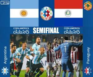 Rompicapo di ARG - PAR, Copa America 2015