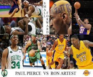 Rompicapo di Artest Finale NBA 2009-10, Ala piccola, Paul Pierce (Celtics) vs Ron (Lakers)