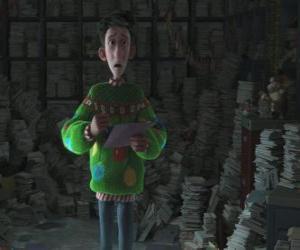 Rompicapo di Arthur Christmas circondato da migliaia di lettere