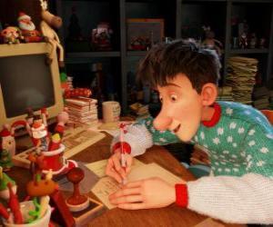 Rompicapo di Arthur Christmas, responsabile per rispondere alle lettere dai bambini di tutto il mondo