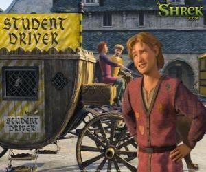 Rompicapo di Arthur è il cugino di Fiona e erede al trono.