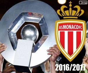 Rompicapo di AS Monaco campione 2016-2017