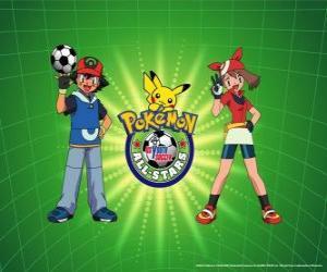 Rompicapo di Ash, maggio e Pokemon