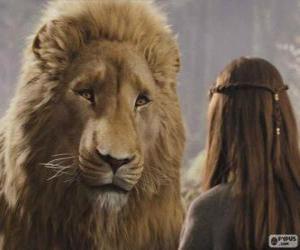 Rompicapo di Aslan parlare con Lucy
