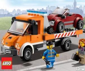 Rompicapo di Assistenza meccanica di Lego City