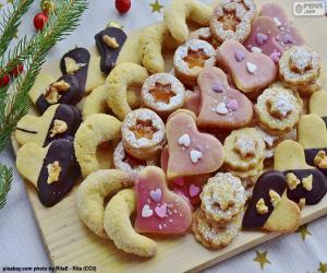 Rompicapo di Assortimento di biscotti di Natale