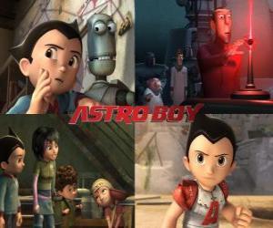 Rompicapo di AstroBoy o Astro Boy, con gli amici