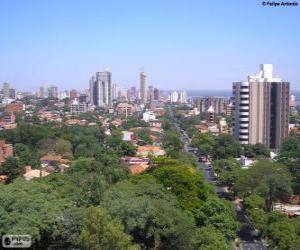 Rompicapo di Asunción, Paraguay