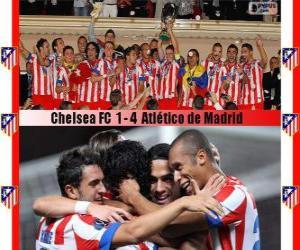 Rompicapo di Atlético de Madrid campione Super Coppa UEFA 2012