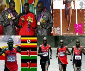 Rompicapo di Atletica marathon maschileLDN12