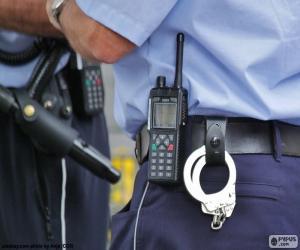 Rompicapo di Attrezzatura della polizia