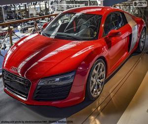 Rompicapo di Audi R8 Red