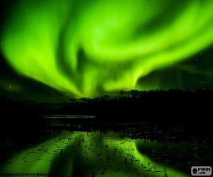Rompicapo di Aurora boreale