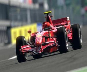Rompicapo di Auto da corsa di Formula 1 o F1
