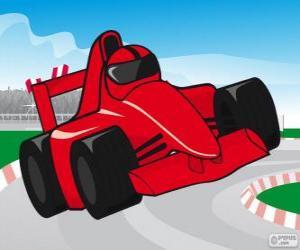 Rompicapo di Auto da corsa F1 rosso