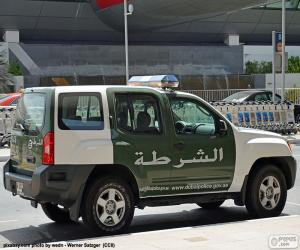 Rompicapo di Auto della polizia di Dubai