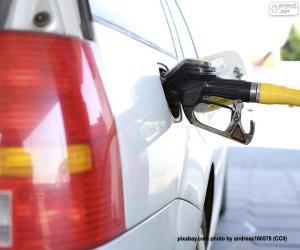 Rompicapo di Auto diesel di rifornimento
