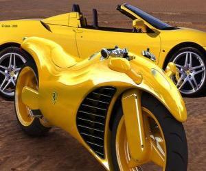 Rompicapo di Auto e moto Ferrari
