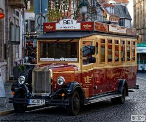 Rompicapo di Autobus d'epoca