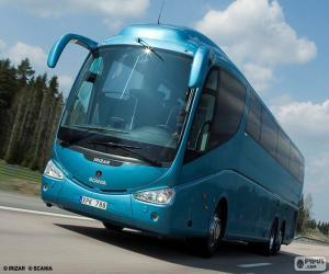 Rompicapo di Autobus di lusso