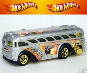 Rompicapo di Autobus Hot Wheels