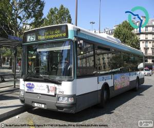Rompicapo di Autobus urbano da Parigi