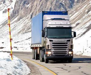 Rompicapo di Autocarro Scania R 470