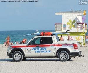 Rompicapo di Automobile di salvataggio da Miami Beach