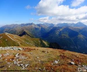 Rompicapo di Autunno in alta montagna
