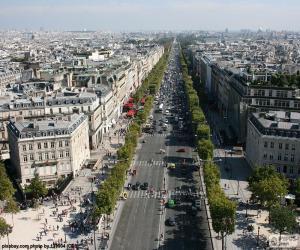 Rompicapo di Avenue des Champs-Élysées, Parigi