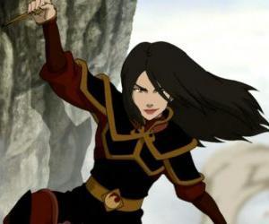 Rompicapo di Azula è la principessa della Nazione del Fuoco e la sorella minore di Zuko