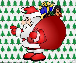 Rompicapo di Babbo Natale, disegno