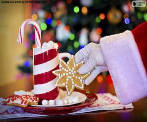 Rompicapo di Babbo Natale e dolci
