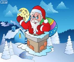 Rompicapo di Babbo Natale nel comignolo
