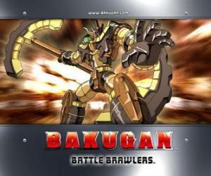 Rompicapo di Bakugan Subterra Gorem è il guardiano di Julie