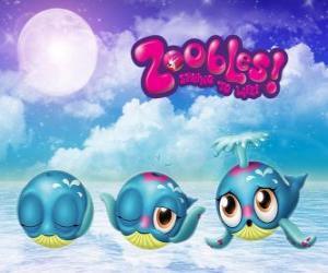 Rompicapo di Balena, Zoobles da Seagonia