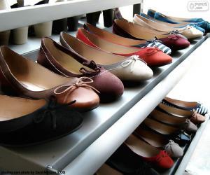 Rompicapo di Ballerine, scarpe