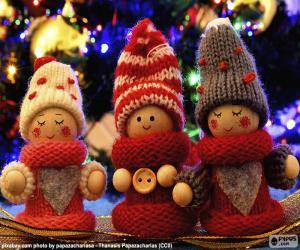 Rompicapo di Bambole di Natale