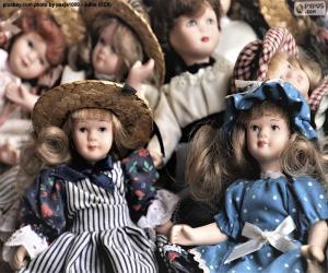 Rompicapo di Bambole di porcellana