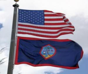 Rompicapo di Bandera di Guam