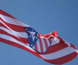 Rompicapo di Bandiera Atlético Madrid