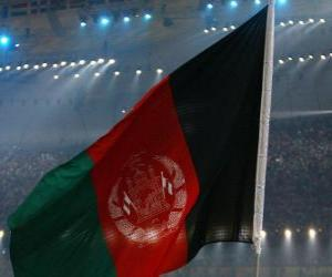 Rompicapo di Bandiera de l'Afghanistan
