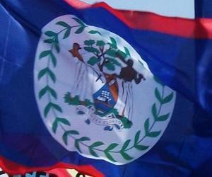 Rompicapo di Bandiera del Belize