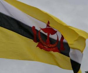 Rompicapo di Bandiera del Brunei