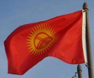 Rompicapo di Bandiera del Kirghizistan