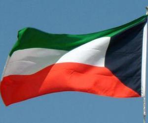 Rompicapo di Bandiera del Kuwait