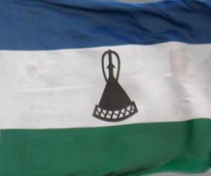 Rompicapo di Bandiera del Lesotho