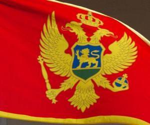 Rompicapo di Bandiera del Montenegro