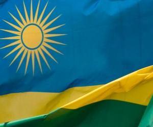 Rompicapo di Bandiera del Ruanda